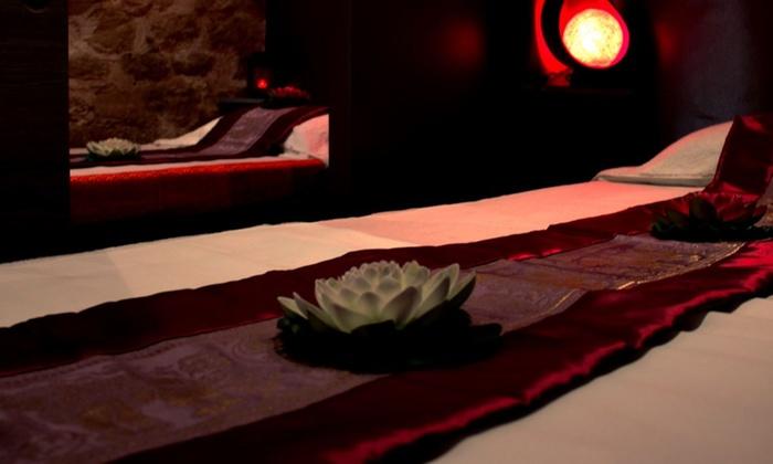 1h de modelage thaï traditionnel, aux huiles ou à la bougie pour 1 ou 2 personnes dès 39 € à l'institut Ban Zen Siam