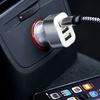3-Port-USB-Ladegerät fürs Auto