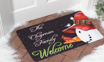 image for One, Two, or Three Personalized Doormats from <strong>Personal</strong> Creations (Up to 71% Off)