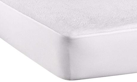 1 o 2 protectores de colchón de rizo impermeable y transpirable
