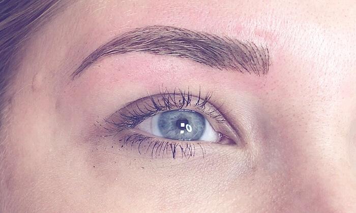 Eyebrow Microblading Fleek Brows Groupon