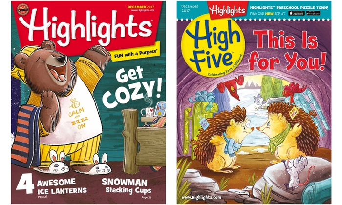 Highlights Magazines: Highlights Magazines Subscriptions (25% Off)