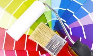Giovanni Civiletti: Imbiancatura fino a 150 m² calpestabili con 3 pareti colorate(sconto fino a 88%)