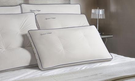 1 ou 2 oreillers mémoire de forme avec ressorts ensachés de la marque Sampur
