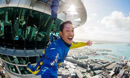 Auckland SkyJump for One ($165), Two ($330) or Four People ($660) with AJ Hackett Bungy NZ (Up to $828.24 Value)