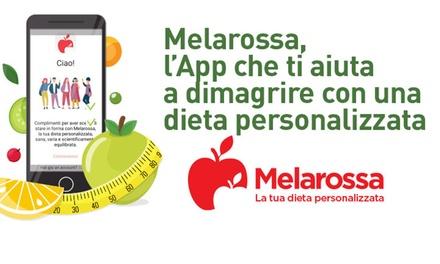 Melarossa: dieta personalizzata a 5,99€euro
