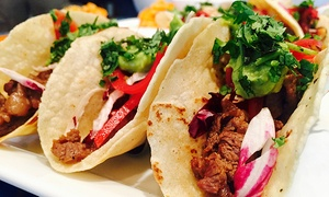 Pepe's Cantina: Mexican Food at Pepe's Cantina (Up to 47% Off). Two Options Available.
