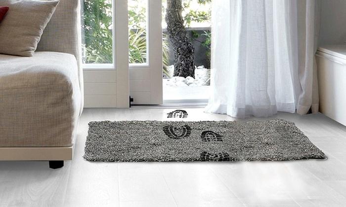 jusqu 39 78 paillasson ultra absorbant groupon. Black Bedroom Furniture Sets. Home Design Ideas
