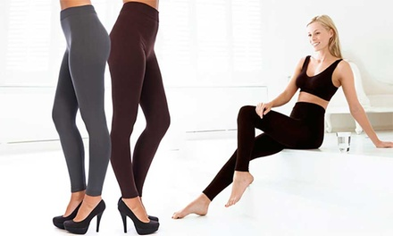 Fleece Lined Leggings Two-Pack