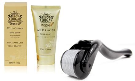 Pack de dermaroller y serum facial Wild Caviar