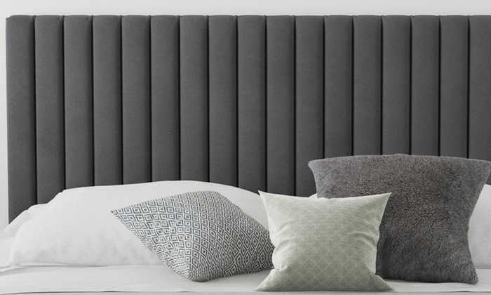 Sterling Plush Velvet Headboard (£95)