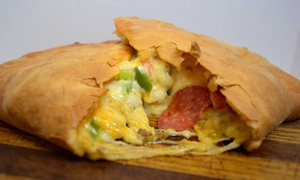 D.P. Dough: $13 for $20 Worth of Calzones at D.P. Dough