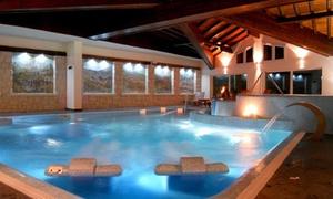 Gaarten Benessere Spa: Percorso Spa e cena di 4 portate con calice di vino all'Hotel Gaarten Benessere Spa, sull'Altopiano di Asiago