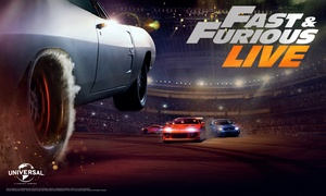Live Nation HQ: Fast & Furious Live, Selected Dates 6 April - 13 May, Choice of Five Locations (No Booking Fees)