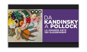 SLOW TOUR TUSCANY: Mostra da Kandinsky a Pollock dal 19 marzo al 24 luglio a Palazzo Strozzi di Firenze (sconto fino a 51%)