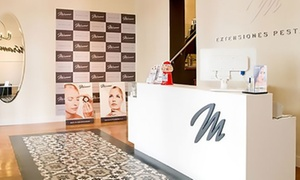 Mirame Lashes And Brows Madrid: Extensión de pestañas pelo a pelo con opción a diseño de cejas desde 19,95 € en Mírame Lashes & Brows Madrid