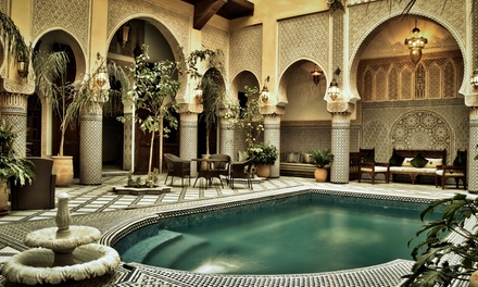 Fès/Marokko: 2-8 Erholungstage für Zwei mit Frühstück, optional mit Massage,im Riad Salam Fes