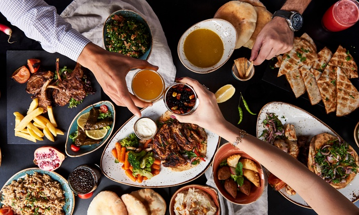 Nar - Dubai: Friday Brunch for Up to Four at Nar (Up to 50% Off)