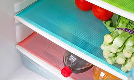 1, 2 ou 3 lots de 3 tapis fraîcheur pour réfrigérateur anti-bactériens