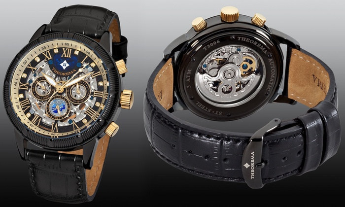 Mens Theorema Monaco Watch 5