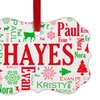 Up to 61% Off Family Word-Art or Photo Benelux Ornaments