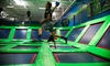 Rebounderz - Sterling Park Business Center: All-Access Passes and Themed Parties at Rebounderz (Up to 50% Off)