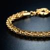 18K Gold Plated Popcorn Mesh Bracelets by Sevil