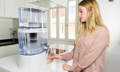 Purificador de agua con filtro cerámico ECO-DE