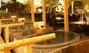 天然温泉かきつばた クーポン(入館料+岩盤浴+レンタルタオルセット)
