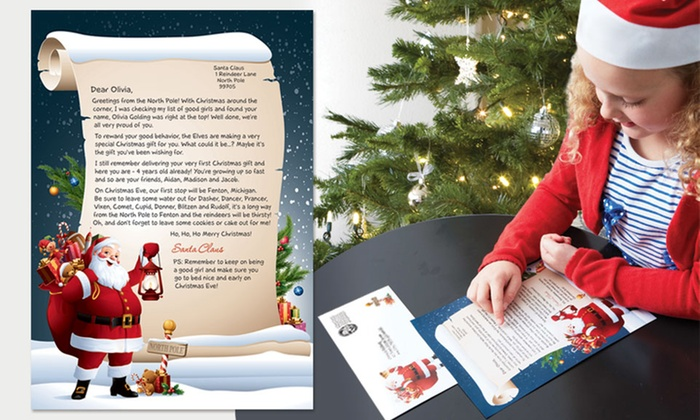 personalized letter from santa groupon goods