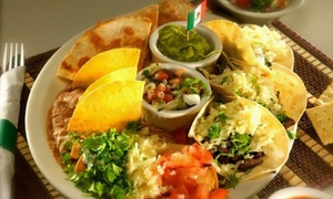 Orale Mexican Restaurant: Mexican Food at Orale Mexican Restaurant (40% Off). Two Options Available.