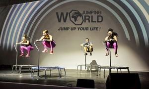 Jumping Fun: 3er-Karte Jumping-Fitness-Kurs für 1 oder 2 Personen bei Jumping Fun (bis zu 18% sparen*)