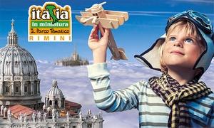 Italia in Miniatura, ingressi: Italia in Miniatura: ingressi open al parco tematico a Rimini (sconto 26%)