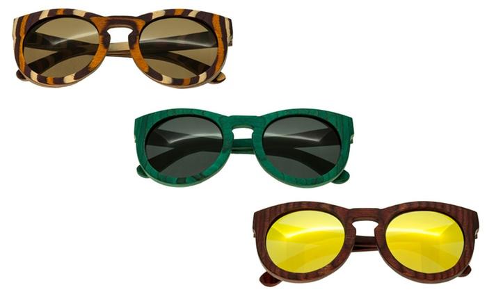 Spectrum Wood Sunglasses for Men and Women