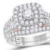 1-1/4 CTTW Round Diamond Engagement Ring Set in 14K Gold by Sonneta