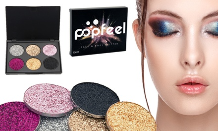 One, Two or Three Rex Brown Glitter Eyeshadow Palettes