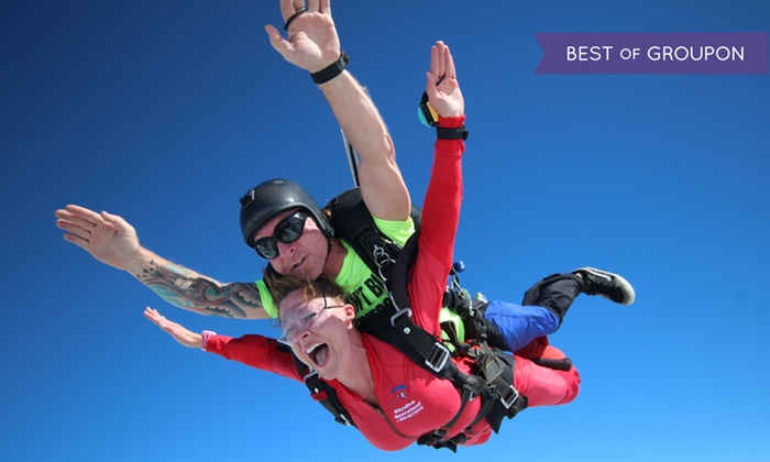 Skydive Spaceland - Atlanta - Rockmart: Tandem Skydiving for One or Two with Optional HD Video/Photos at Skydive Spaceland (Up to 35%Off)