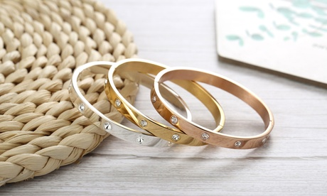 1, 2 o 3 brazaletes adornados Philip Jones con cristales de Swarovski®