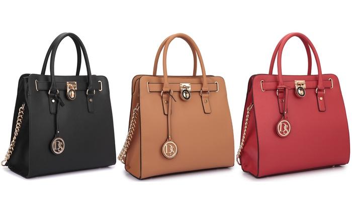 Dasein Large MMK Satchel Handbag