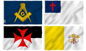 Anley Fly Breeze Series Religious Flag