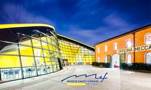 Museo Enzo Ferrari di Modena - Tour e cena: Spy Game e cena esclusiva il 7 dicembre al Museo Enzo Ferrari di Modena