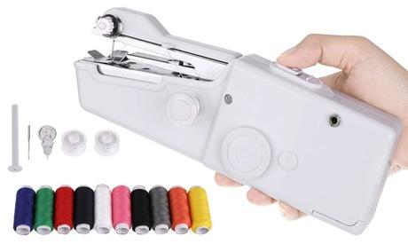 1 o 2 máquinas de coser de mano portátil WE HOUSEWARE