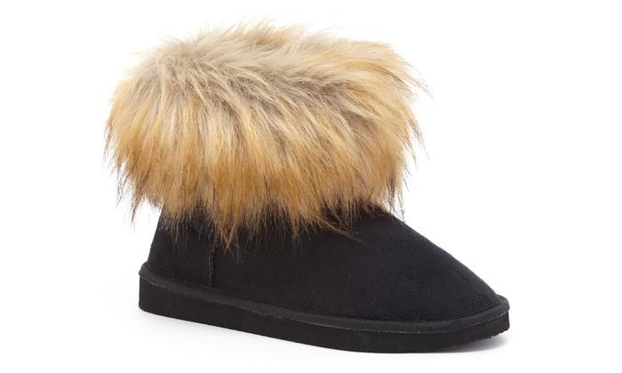 Jenna Women's Faux-Fur Ankle Boots (Size 6)