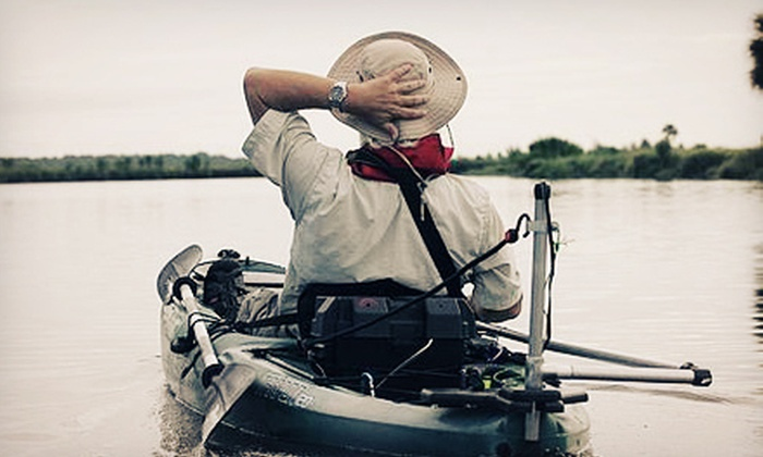A Day Away Kayak Tours - Titusville: Two-Hour Motorized-Kayak Tour of the Indian River for One, Two, or Four from A Day Away Kayak Tours (Up to 53% Off)