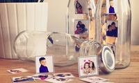 Childrens Mini Photoshoot with Personlised Milk Bottle Gift at Flash Mob Photography, Two Locations