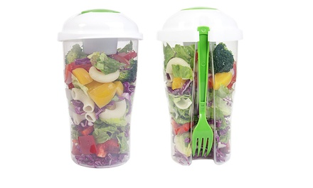 Reusable On-the-Go Salad Cups: Two ($15) or Four ($25)