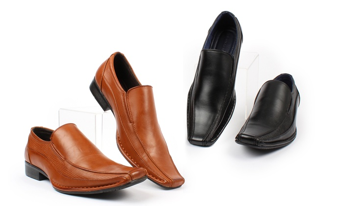 harrison s slip on dress shoes groupon