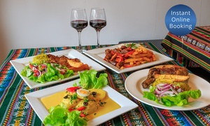 La Cocina Peruana: Two-Course Peruvian Meal with Wine for Two ($55) or Four People ($110) at La Cocina Peruana (Up to $220 Value)