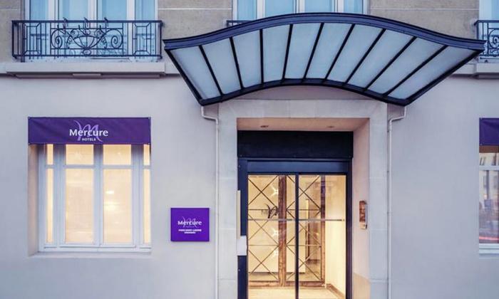 Mercure paris saint lazare monceau groupon for Groupon hotel paris