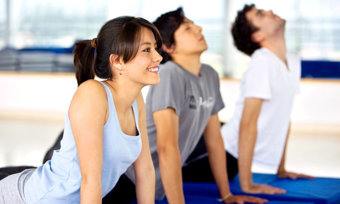 River-City MMA - Soulard: Three or Five Yoga, Cardio-Kickboxing, or Insanity Workout Group Fitness Classes at River-City MMA (Half Off)